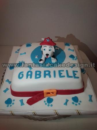 torta paw patrol - Picture of Fantasia Cake Design ...