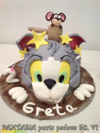 torta tom e jerry Picture of Fantasia Cake Design Vicenza