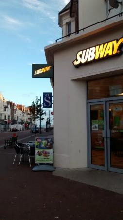 Bexhill-on-Sea, UK: Subway is everywhere...even in Bexhill On Sea