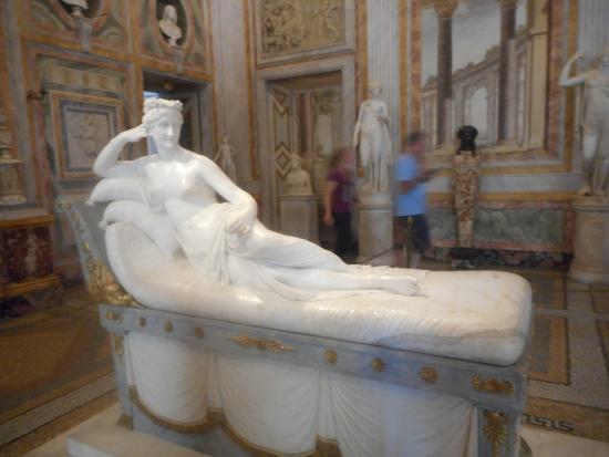 Galleria Borghese: Canova : Paolina Borghese