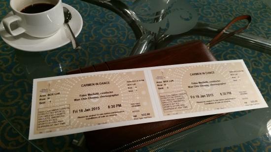 Dewan Filharmonik Petronas: tickets