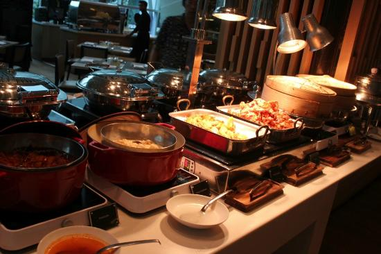 A small selection of the breakfast buffet picture of pan for Au jardin singapore sunday brunch