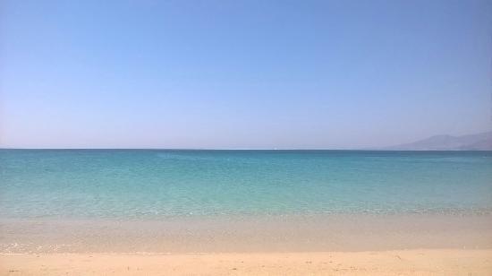 Agios Prokopios, Grecia: Mare cristallino!!!