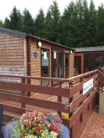 Loch Awe Holiday Park: Reception