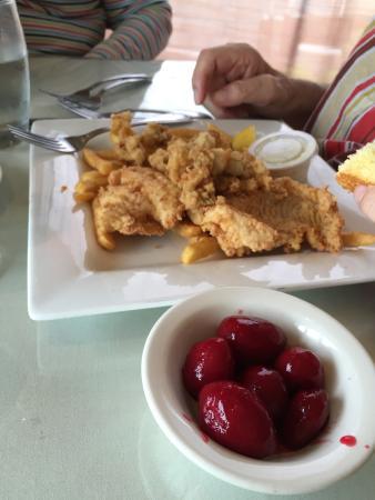 Brackett's Oceanview Restaurant: Good beets