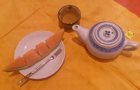 Mr. Lee: Zum Nachtisch gab's Melone und Tee