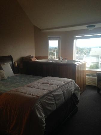 Seaside Oceanfront Inn: Spa Room on 4th floor.