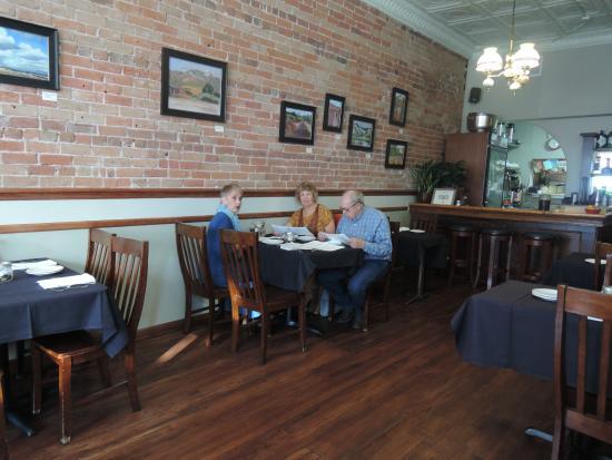 Nice interior picture of laughing ladies restaurant