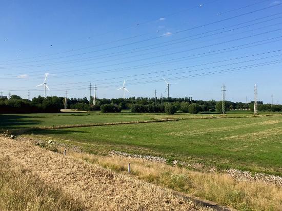 Flanders Bike Trail: ветряки