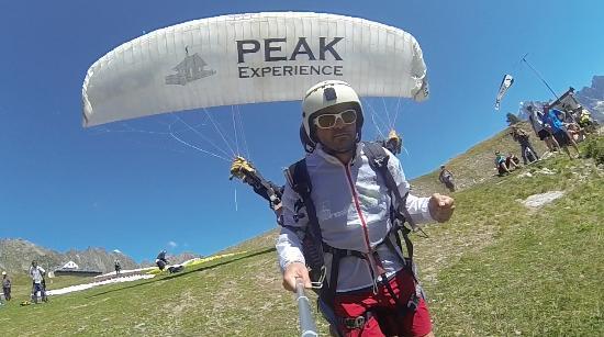 Peak Experience Parapente : Décollage