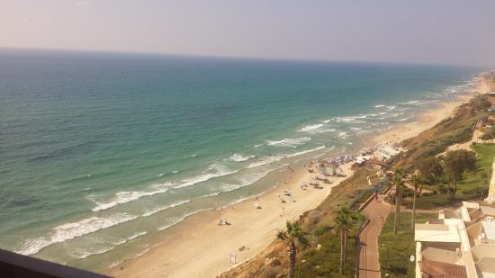 Seasons Netanya Hotel: vue de la chambre