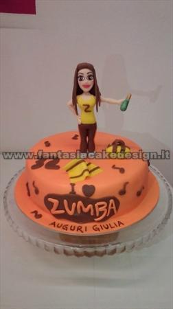 Torta Zumba Picture Of Fantasia Cake Design Vicenza Tripadvisor