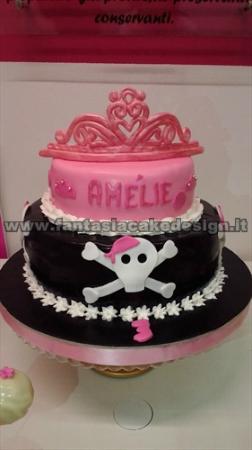 torta pirata e principesse - Picture of Fantasia Cake ...