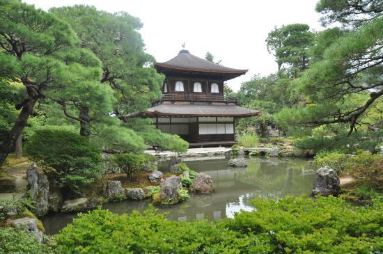 Pavillon d argent et jardin photo de pavillon d argent for Jardin kyoto