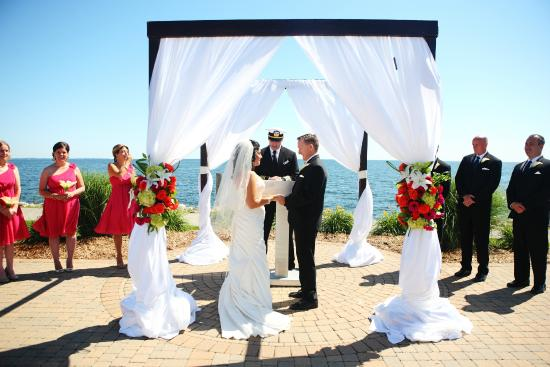 Waterfront Wedding Reception On Site At Jefferson Beach Marina