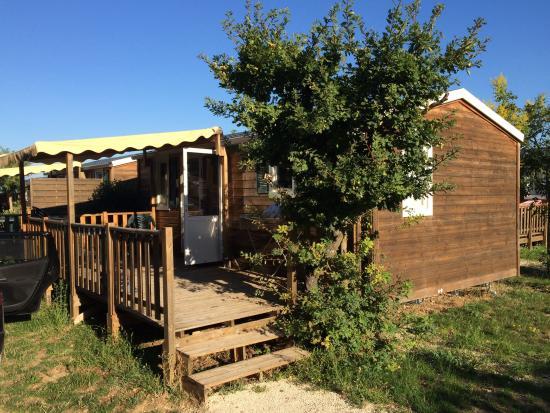 Grillon, France : Mobile home