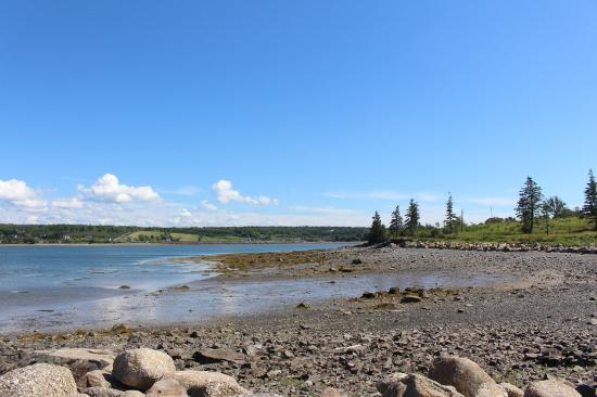 Gilberts Cove, Canadá: Low tide