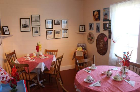 Gilberts Cove, Canadá: The nice tea room