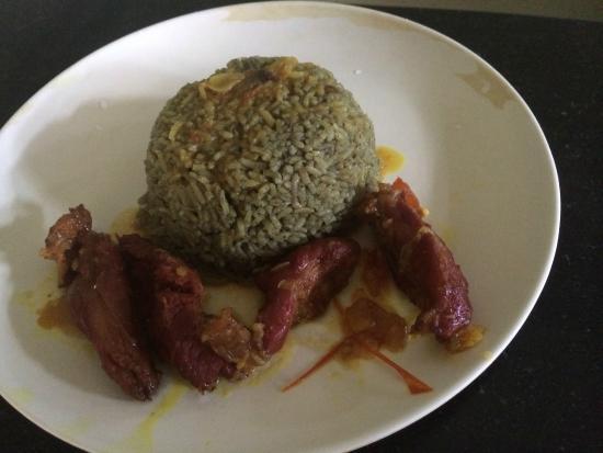 Pork with Jadoh rice