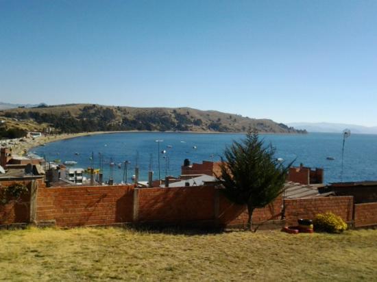 La Aldea del Inca: Vista del lago