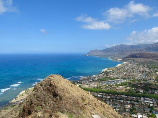 Waianae, HI: Almost at the top now