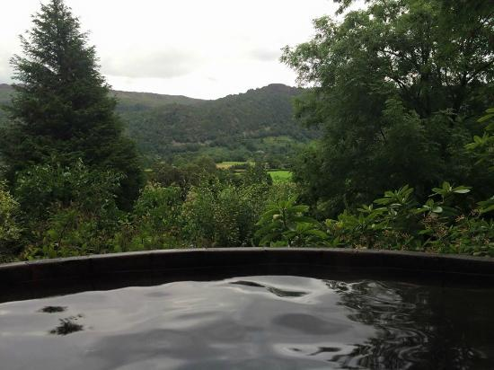 Incredible View From The Hot Tub Bliss Picture Of Manesty Holiday Home Interior And Landscaping Fragforummapetitesourisinfo