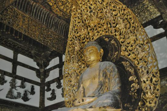 Byodoin Temple: bouddha du XII