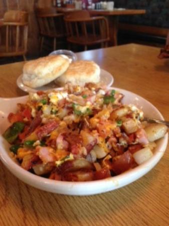 Miller's Homestead: Delicious breakfast