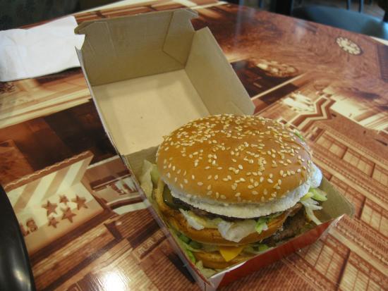 Werneck, Duitsland: Big Mac