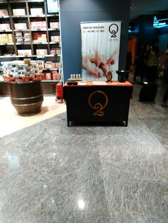 O2 Spa at Bangalore Airport