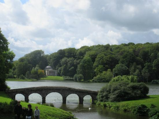 Stourhead House and Garden: Main scape view