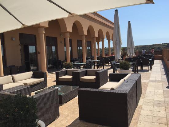 Amendoeira Golf Resort: Zona do restaurante