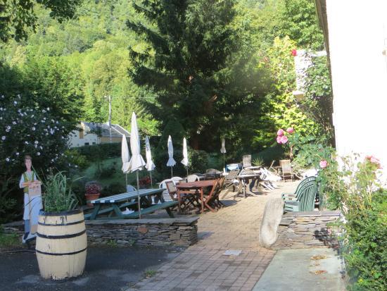Hotel du Val d'Aure: Terrace