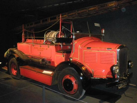 Coventry, UK: Fire Brigade Car