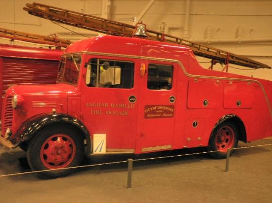 Coventry, UK: Fire Brigade truck