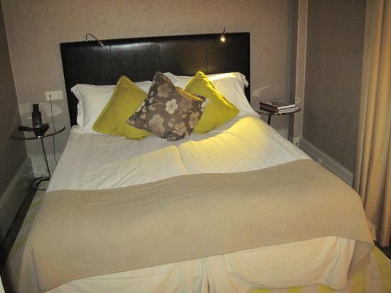 Elite Hotel Stockholm Plaza: zona letto matrimoniale