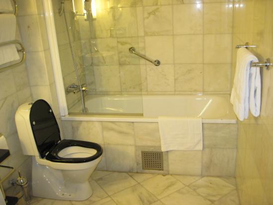 Elite Hotel Stockholm Plaza: bagno