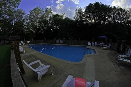 Junge's Motel: pool area