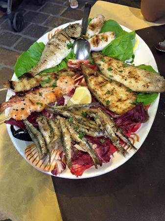 la favolosa grigliata di pesce
