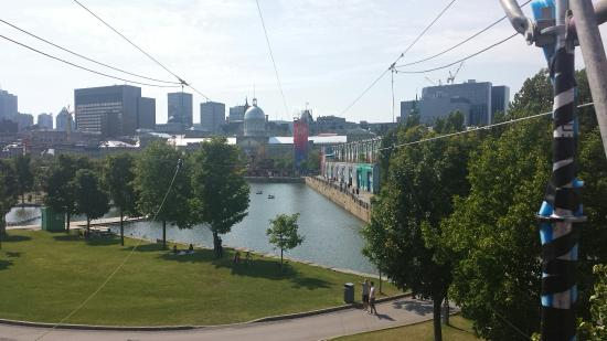 Montreal Shopping Tours : Montreal vieux port , circuit gilles Villeneuve