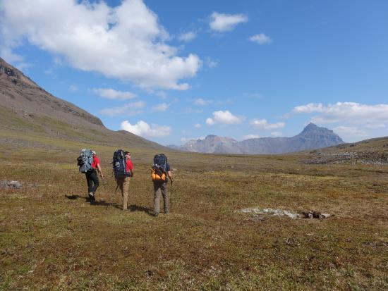 McCarthy, AK: Day 2 - heading towards Lake Skolai