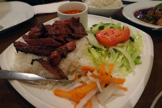 Thai Spice: pork