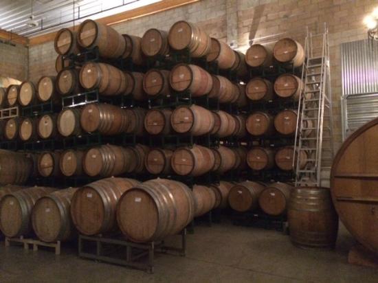 Barrelworks at Firestone Walker Brewery: Barrel Room