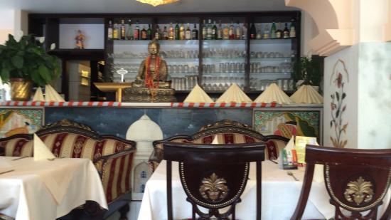 Restaurant Taj Mahal: 内装