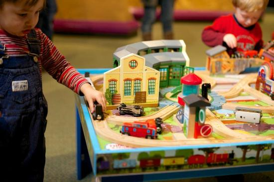 Train Table In The Children S Gallery Picture Of The