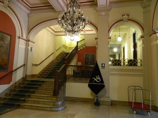 Gran Hotel Bolivar Interior Of The