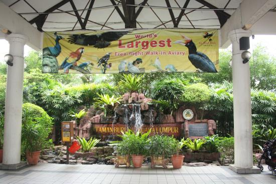 Kuala Lumpur Fuglepark: Entrance
