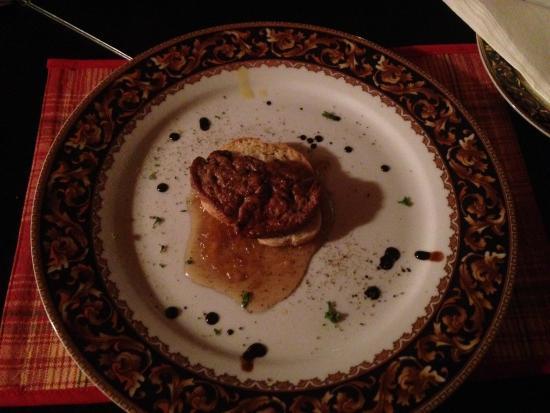 Wentworth Nord, Canadá: Foie gras poêlé
