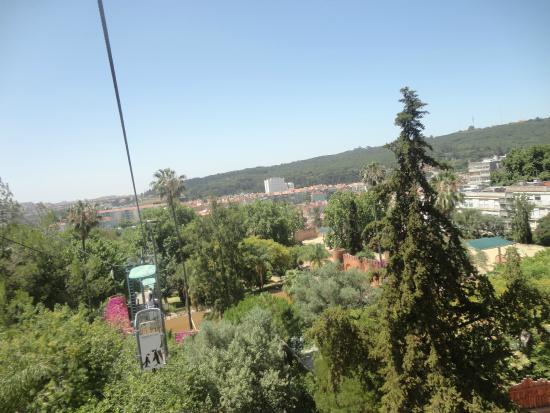 Jardim Zoologico: visitar o zoo dentro de um teleférico!!