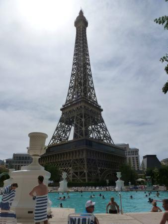 Paris Las Vegas: Piscina do hotel